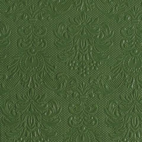 Bilde av Servietter Elegance Lunsj Mørk Grønn 15stk