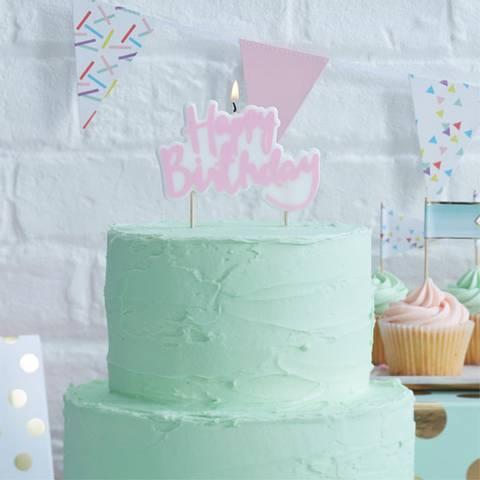 Bilde av Kakelys Pick & Mix Happy Birthday Rosa