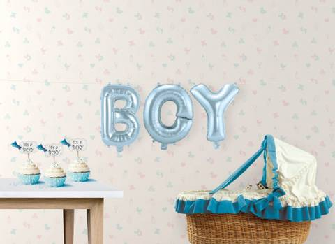 Bilde av Ballong Blå Boy 36cm