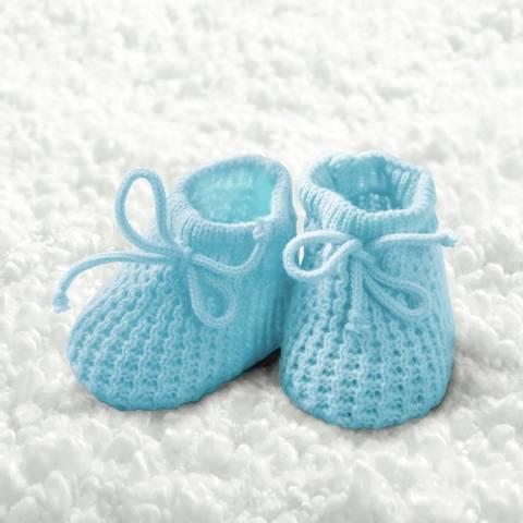 Bilde av Servietter Baby Gutt Sokker 33cm 20stk