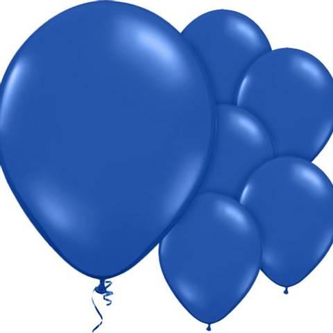 Bilde av Ballonger Evening BlueLateks 30cm 10stk