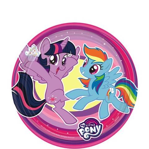 Bilde av My Little Pony Papptallerkner 18cm 8stk