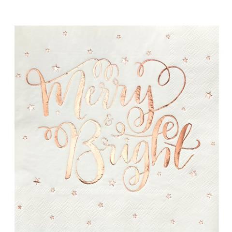 Bilde av Merry & Bright Servietter 33cm 20stk