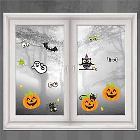 Bilde av Halloween Morsom Vindusdekorasjon