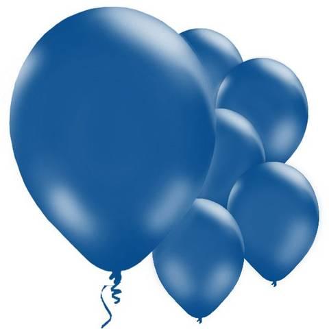 Bilde av Ballonger Mørkeblå Lateks 28cm 10stk