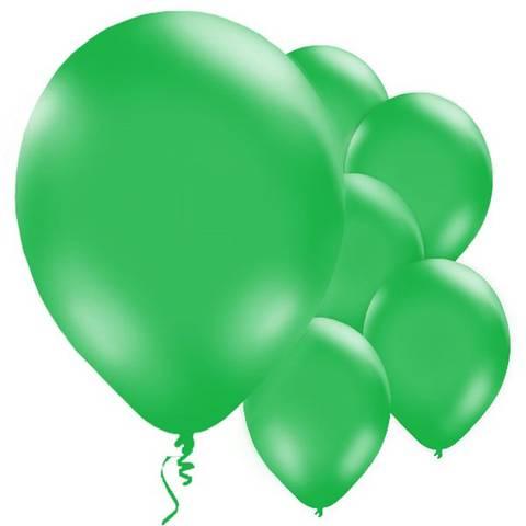 Bilde av Ballonger Grønne Lateks 28cm 10stk