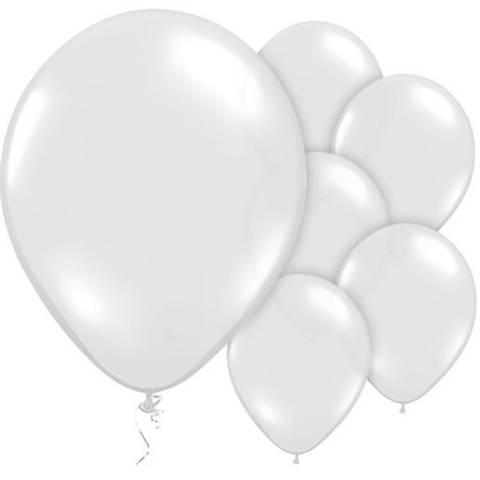 Bilde av Ballonger Krystallklare Lateks 29cm 10stk