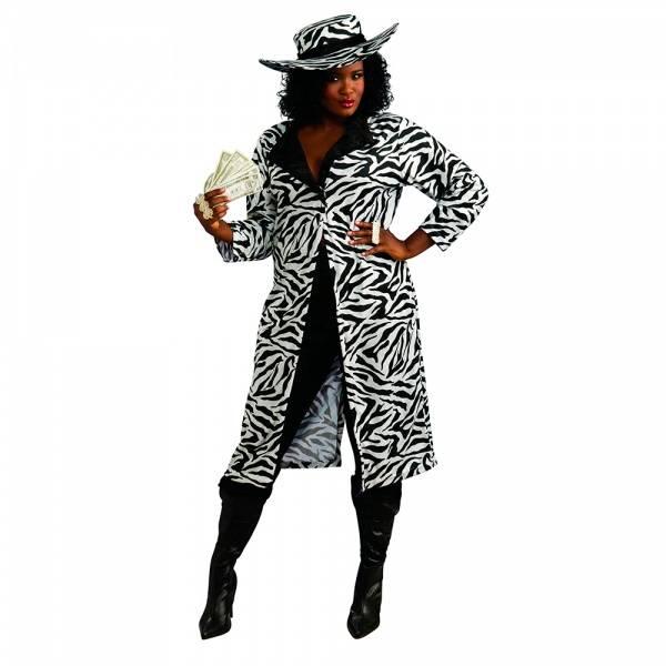 Madame of the Night XL - kostyme