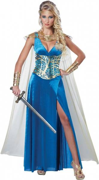 Sapphire Goddess - kostyme