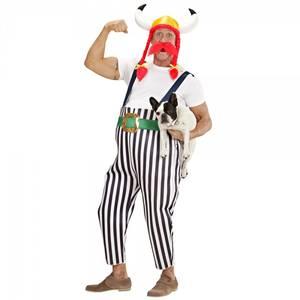 Bilde av Obelix kostyme m. hjelm