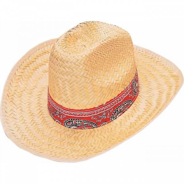 Strå Western hatt