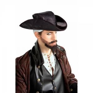 Bilde av Sort pirat hatt