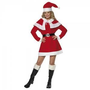 Bilde av Miss Santa kostyme