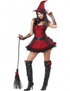 Bilde av Sexy heks kostyme inkl. hatt