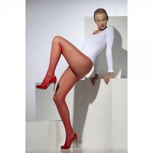 Bilde av Netting strømpebukser rød