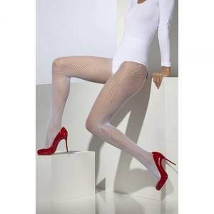 Bilde av Netting strømpebukser hvit