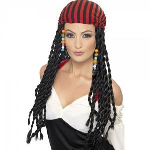 Bilde av Pirat parykk dame