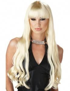 Bilde av Serpentine blond parykk