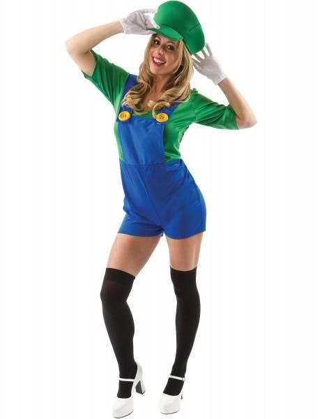 Luigi damekostyme