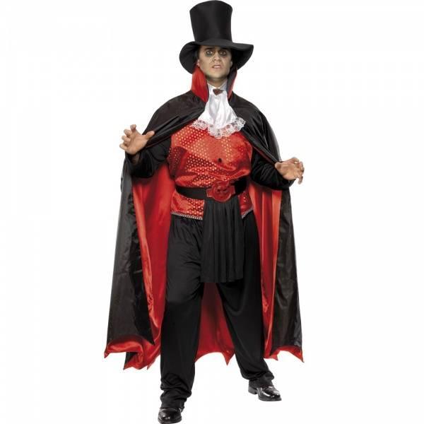 Vampyr kostyme inkl. hatt