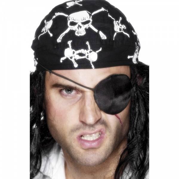Svart Pirat øyeklaff