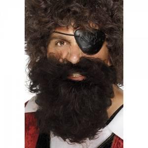 Bilde av Pirat skjegg og bart