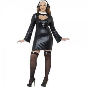 Bilde av Sexy Nonne kostyme XL