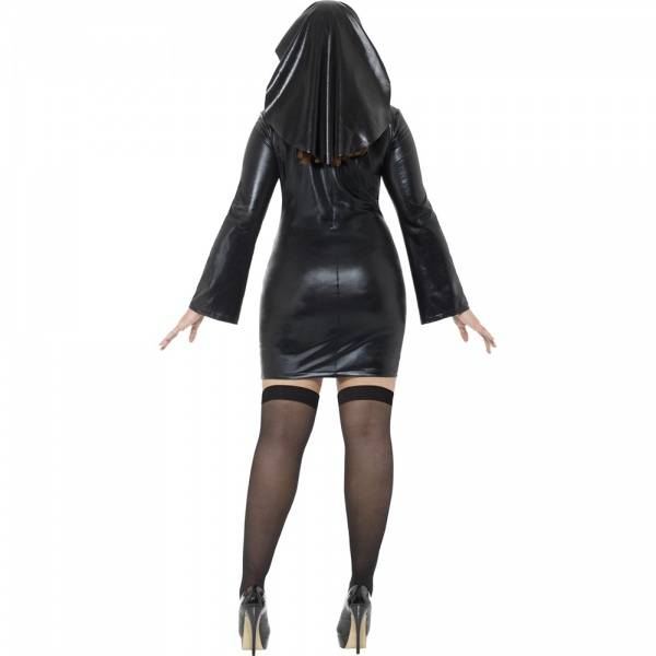 Sexy Nonne kostyme XL