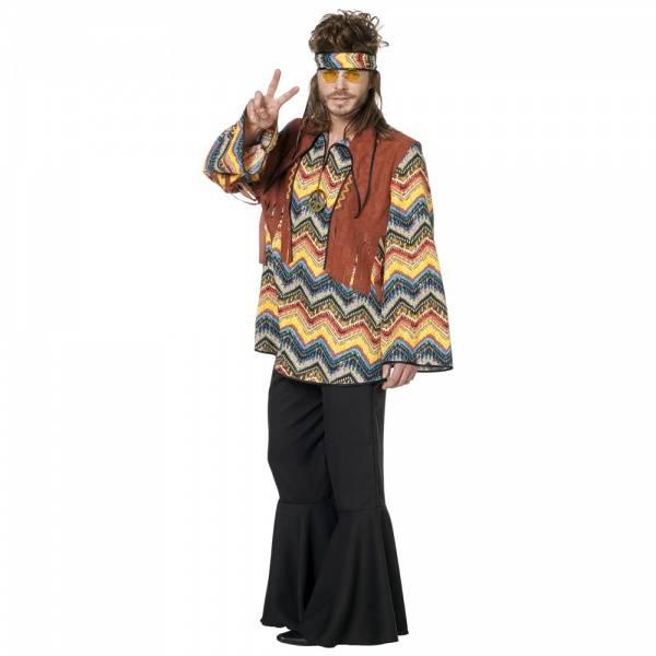 60's Hippie skjorte - kostyme