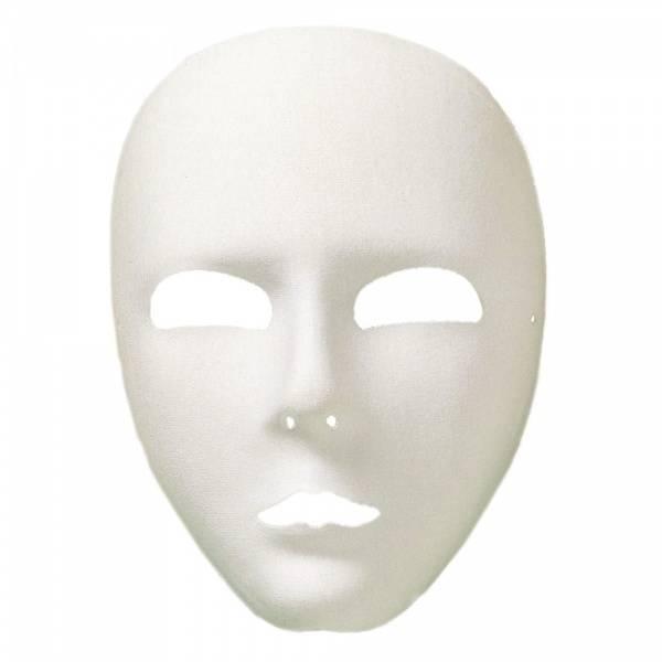 Hvit maske DLX