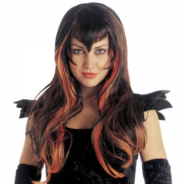 Samantha Gotisk parykk - orange