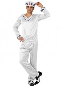 Bilde av Hvit Matros kostyme