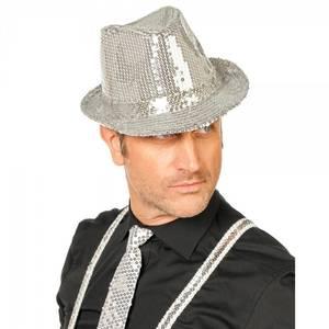 Bilde av Gangster hatt sølv