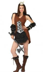 Bilde av Viking Princess kostyme