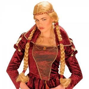 Bilde av Medieval Princess parykk