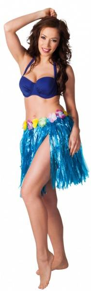 Hula hula kostyme - blå skjørt