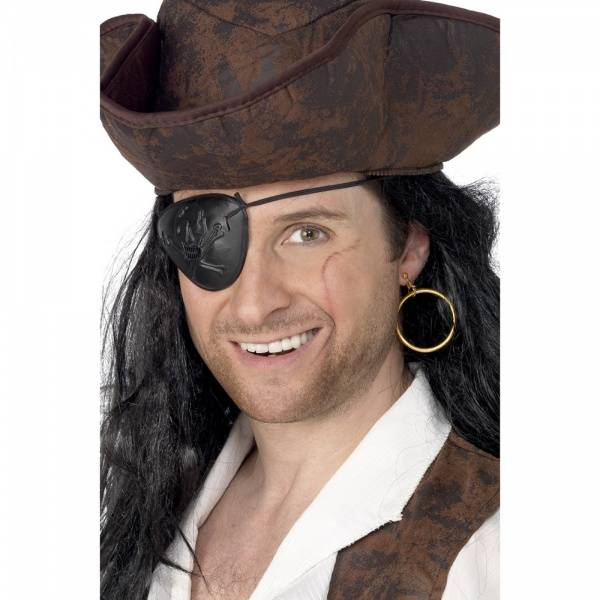 Pirat øyeklaff og ørering