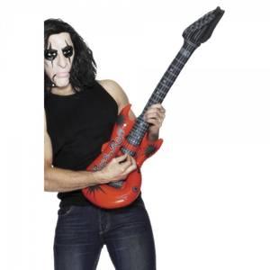 Bilde av Oppblåsbar Rock gitar