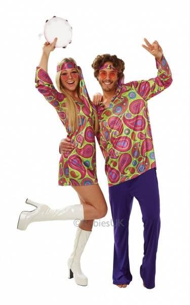 70's Hippie girl - kostyme