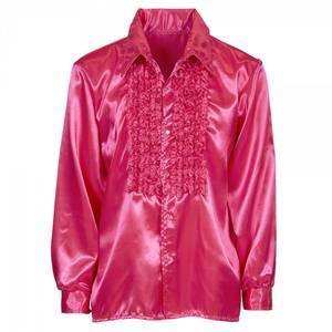 Bilde av Discoskjorte pink - kostyme