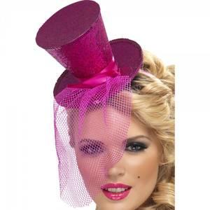 Bilde av Mini Flosshatt pink