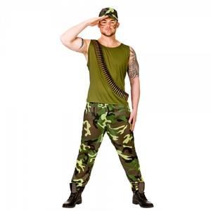 Bilde av Army Guy kostyme