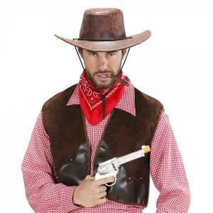 Bilde av Brun cowboy hatt
