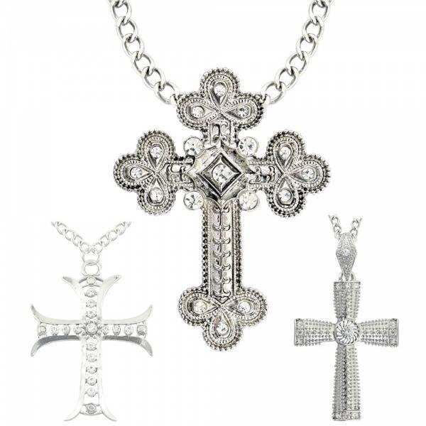Gotiske kors i metall
