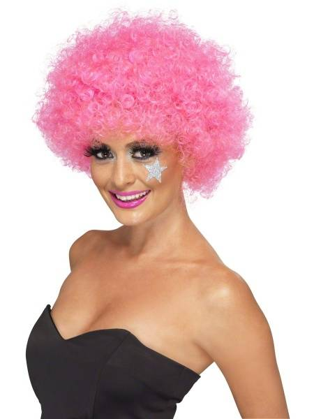 Funky afro pink