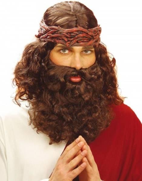 Jesus parykk & skjegg