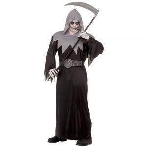 Bilde av Skull Fighter kostyme svart