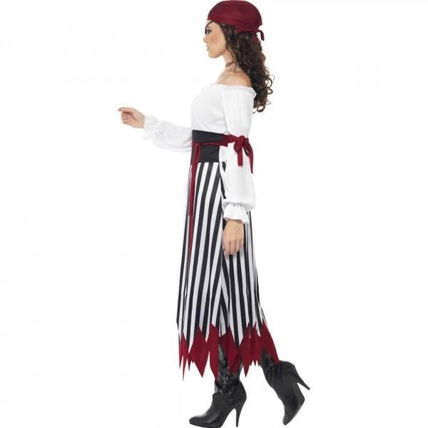 Pirat Lady kostyme