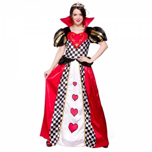 Queen of Hearts kostyme