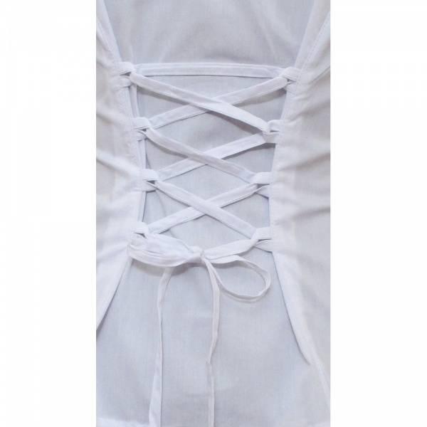 Hvit bluse -  kostyme